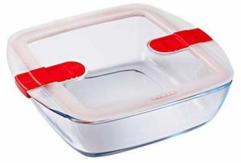 Pyrex Cook & Heat Glas Frischhaltedose quadratisch (212PH00)