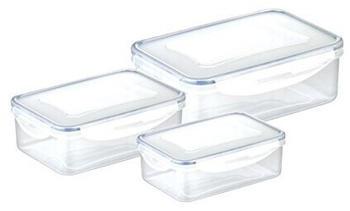 Tescoma Frischhaltebox, Plastik, Transparent, 25 X 17.6 X 8.4 Cm
