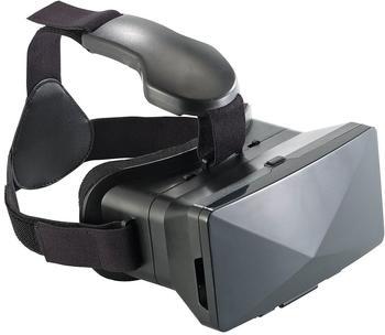 Auvisio Virtual-Reality-Brille VRB70.3D mit Magnetschalter, großer Blickwinkel