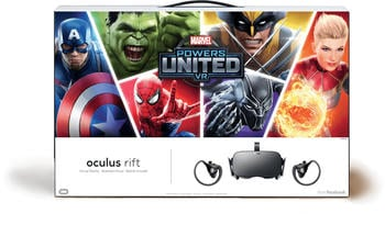Oculus Rift mit Oculus Touch + Marvel Powers United VR