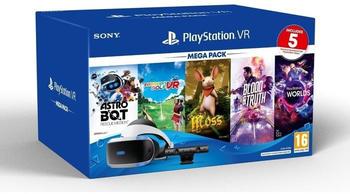 Sony PlayStation VR V2 + PlayStation Camera + Mega Pack - Astro Bot: Rescue Mission + Everybody's Golf VR + Moos + Blood & Truth + PlayStation VR Worlds