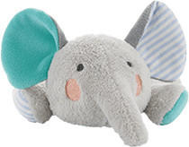Dodie Microwavable Soft Toy 6M+ Elephant