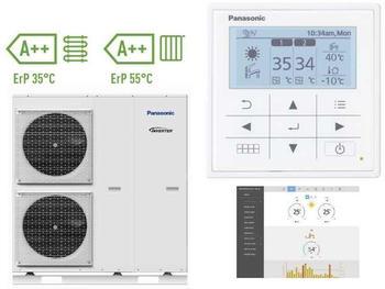 Panasonic Aquarea LT Monoblock 400V 12 kW Inverter (WH-MXC12H9E8)