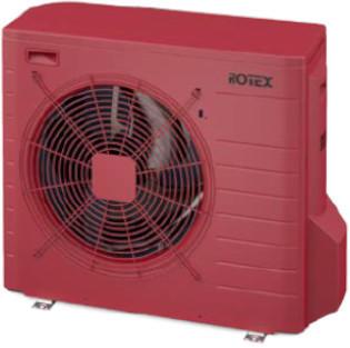 Rotex 22HPSU compact Ultra Außengerät (4 kW) rubinrot (RRGA04DV-CR)