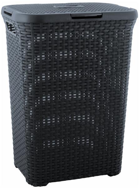 Curver Style Wäschebox 60L anthrazit