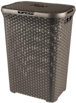 Curver Rattan Wäschebox (60 L) braun