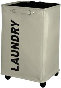 Wenko Quadro Wäschesammler beige