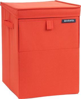 Brabantia Stapelbare Wäschebox 35L warm red