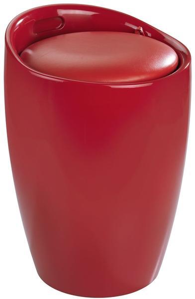 Wenko Hocker Candy Red (20624100)