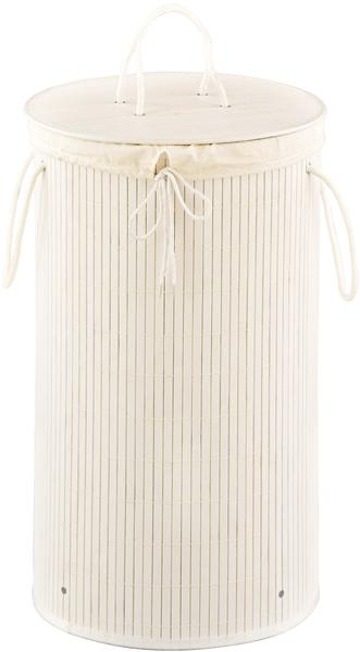 Zeller Bamboo Wäschesammler (13412) weiß