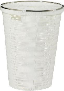 Kela Wäschebox Noblesse rund weiß (56 cm)