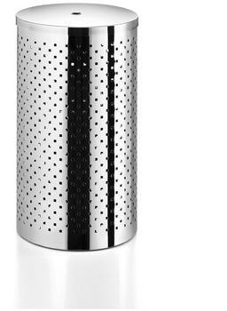 LineaBeta Wäschekorb mit Deckel polished stainless steel (5351.29.29)