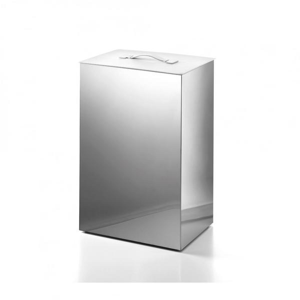 LineaBeta SECIONI Wäschekorb polished stainless steel (53433.29.09)