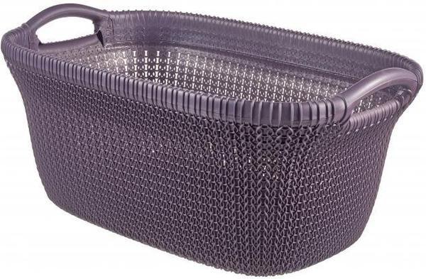 Curver KNIT Wäschekorb 40L twilight purple