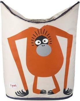 3 Sprouts orangutan laundry hamper