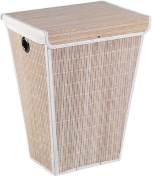 Wenko Bamboo konisch Bambus 45x60x33cm weiß (22100100)