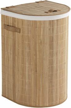 Wenko Bambooleo halbrund Bambus 79L 35x60x39cm braun (62015100)