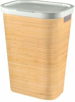 curver-invinity-waeschebox-60l-bambus
