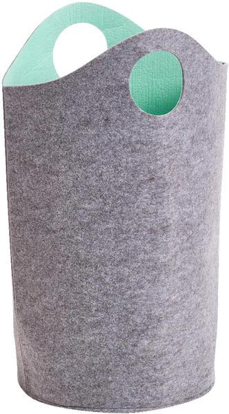 Zeller Two-tone Filz grau/aqua (14384)