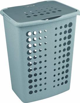 Curver Wäschebox Bellisimo grau/silber 60L