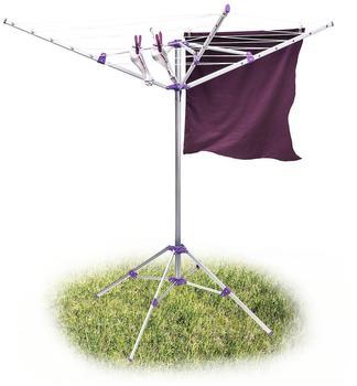 Relaxdays Wäschespinne mit Standfuß 19