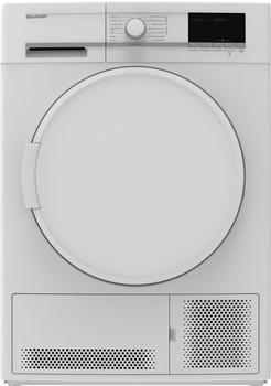 Sharp KD-GCB7S7PW9-DE 7 kg Weiß
