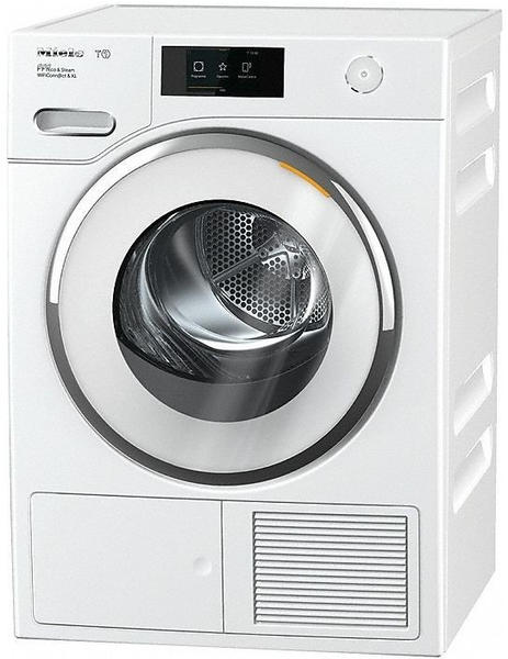 Miele TWR860 WP Freistehend Frontlader Silber, Weiß 9 kg A+++