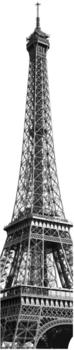 Komar Wandbild Tour Eiffel