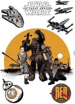 """Komar Wandtattoo Star Wars """"Resistance"""" (14025)"""