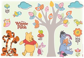 "Komar Wandsticker ""Winnie The Pooh Nature Lovers"" (14014)"