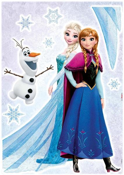 Komar Wandtattoo Disney Frozen Sisters
