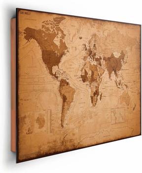 Home Affaire Weltkarte - antik
