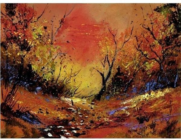 Art-Land Sonnenuntergang 45 x 60 cm