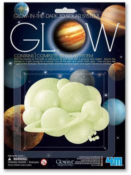 4M Glow 3D Solar System (00-05423)
