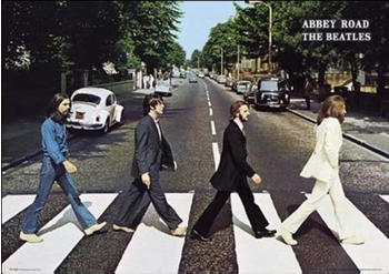 GB Eye The Beatles Abbey Road Maxi Poster