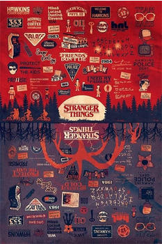 Pyramid international Stranger Things The Upside Down Multi-Colour Poster