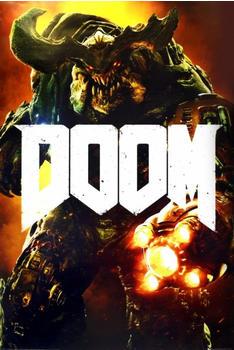 GB Eye Doom Cyber Demon Maxi Poster