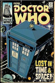 GB Eye Doctor Who Tardis Large Wall Poster