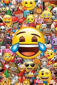 GB Eye Emoji Collage Large Wall Poster