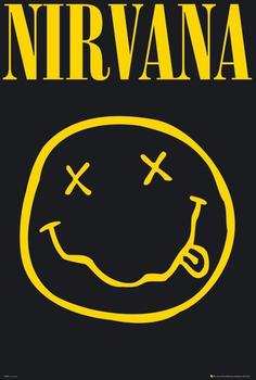 GB Eye Nirvana Smiley Maxi Poster