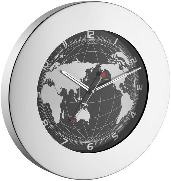 TFA Dostmann 60.3006 Wanduhr im Weltkarten-Design
