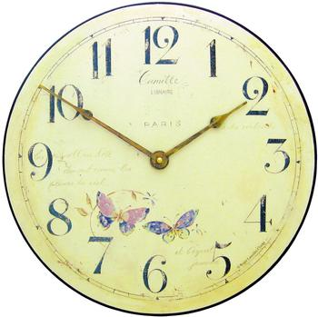 roger-lascelles-butterfly-motif-wall-clock