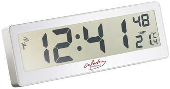 infactory Kompakte Funkuhr mit riesigem XXL LCD-Display