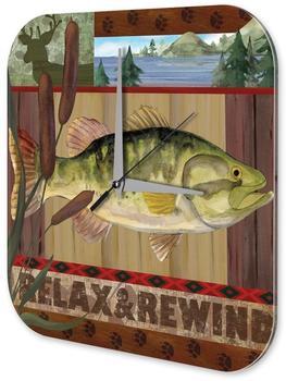 Leotie Quarz-Wanduhr Fisch Natur (180U22109732)