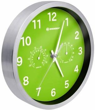 Bresser MyTime Quarz Thermo-/Hygro 25cm grün