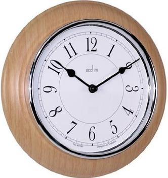 Acctim Newton Clock Light Wood