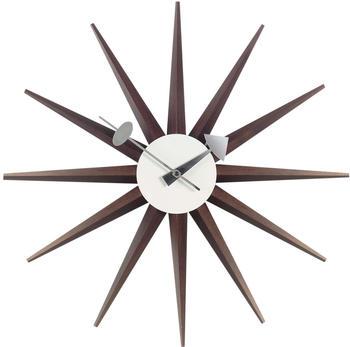 Vitra Sunburst Clock nußbaum (20125303)