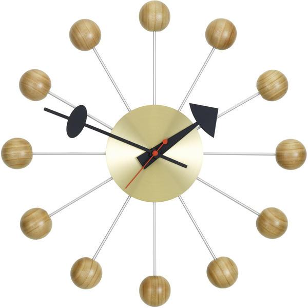 Vitra Ball Clock kirschbaumholz