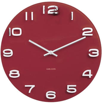 karlsson-ka5640rd-wall-clock-vitange