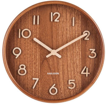 karlsson-ka5808dw-wall-clock-wood